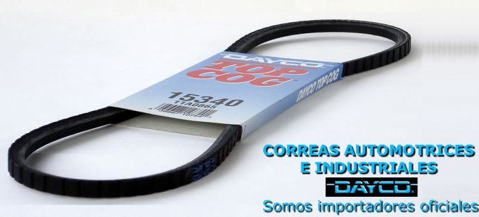 Correas automotrices Dayco